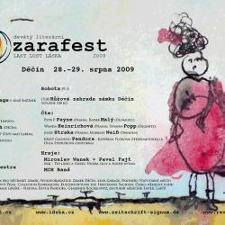 zarafest 2009 poster
